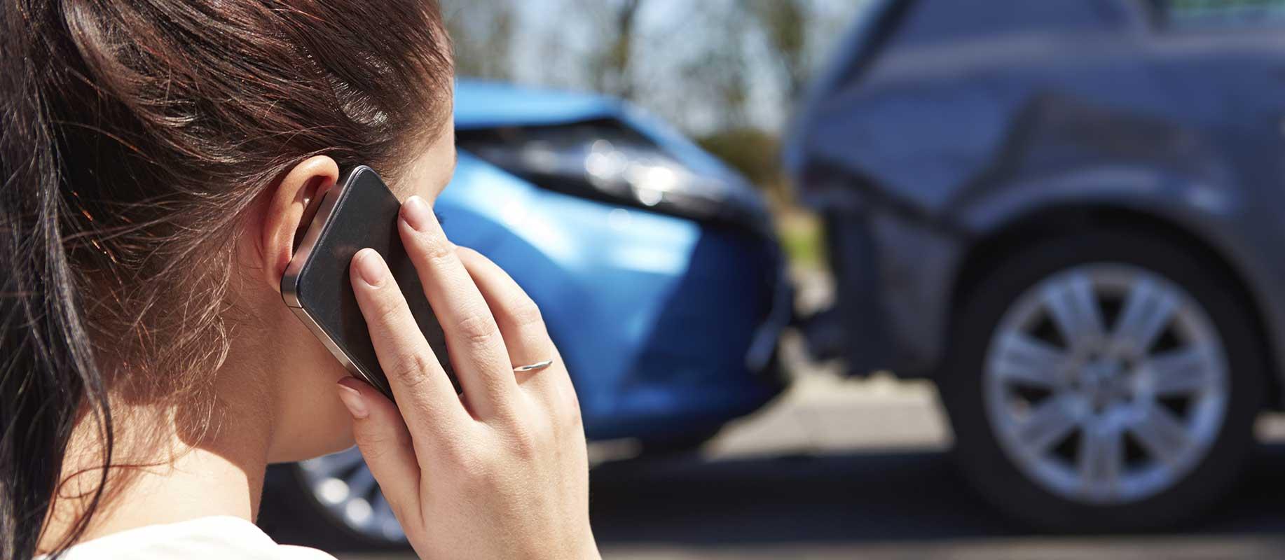 Appeler pour signaler un cas de besoin d'assurance auto temporaire