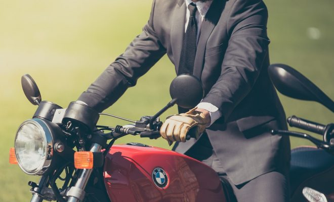 Un mariage à moto